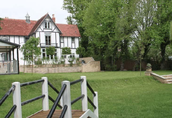 Garden design Wantage, Oxford (after)