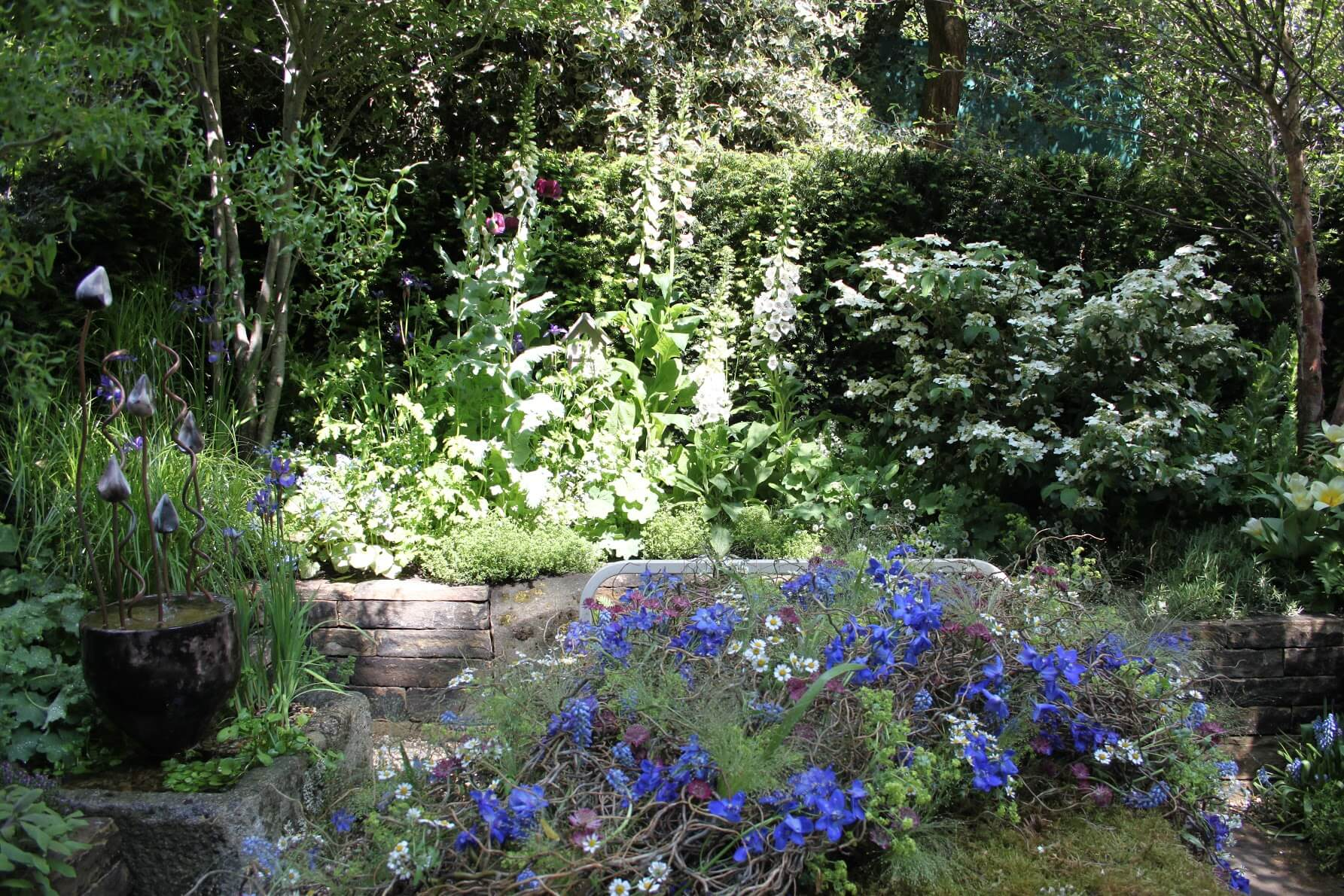 Inspiration from the chelsea flower show oxford garden for Oxford garden designs