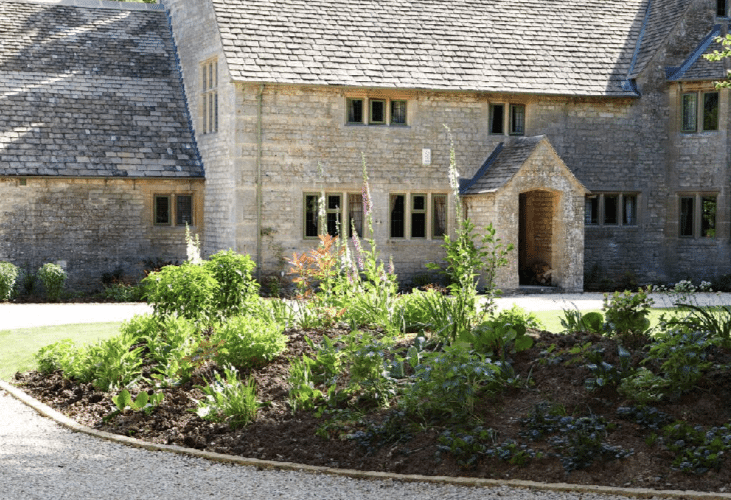 burford garden design, garden makeover Oxford garden design