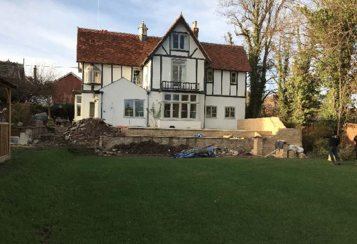 Garden design Wantage, Oxford (before)