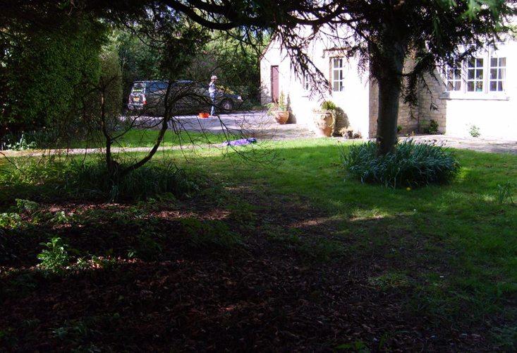 Burford garden, Oxford (before)