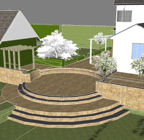 Oxford Garden Design. Garden Landscaping services Oxfordshire  Oxford Design in Contact Today