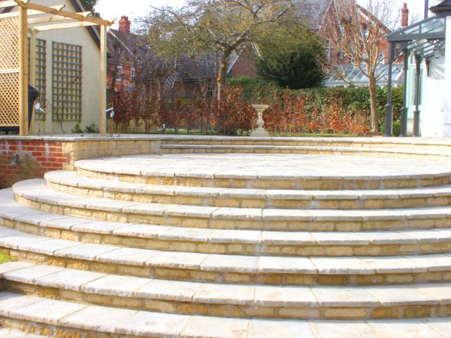 Wantage Landscaping - the finished steps