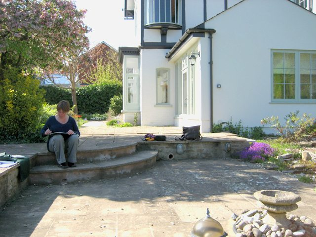 Wantage Landscaping - Before construction