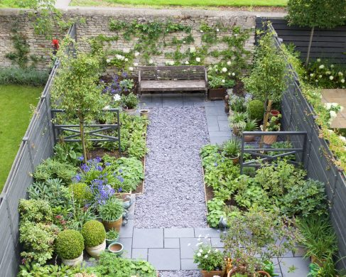 garden designs. Small Town Garden Design - Oxford Designs