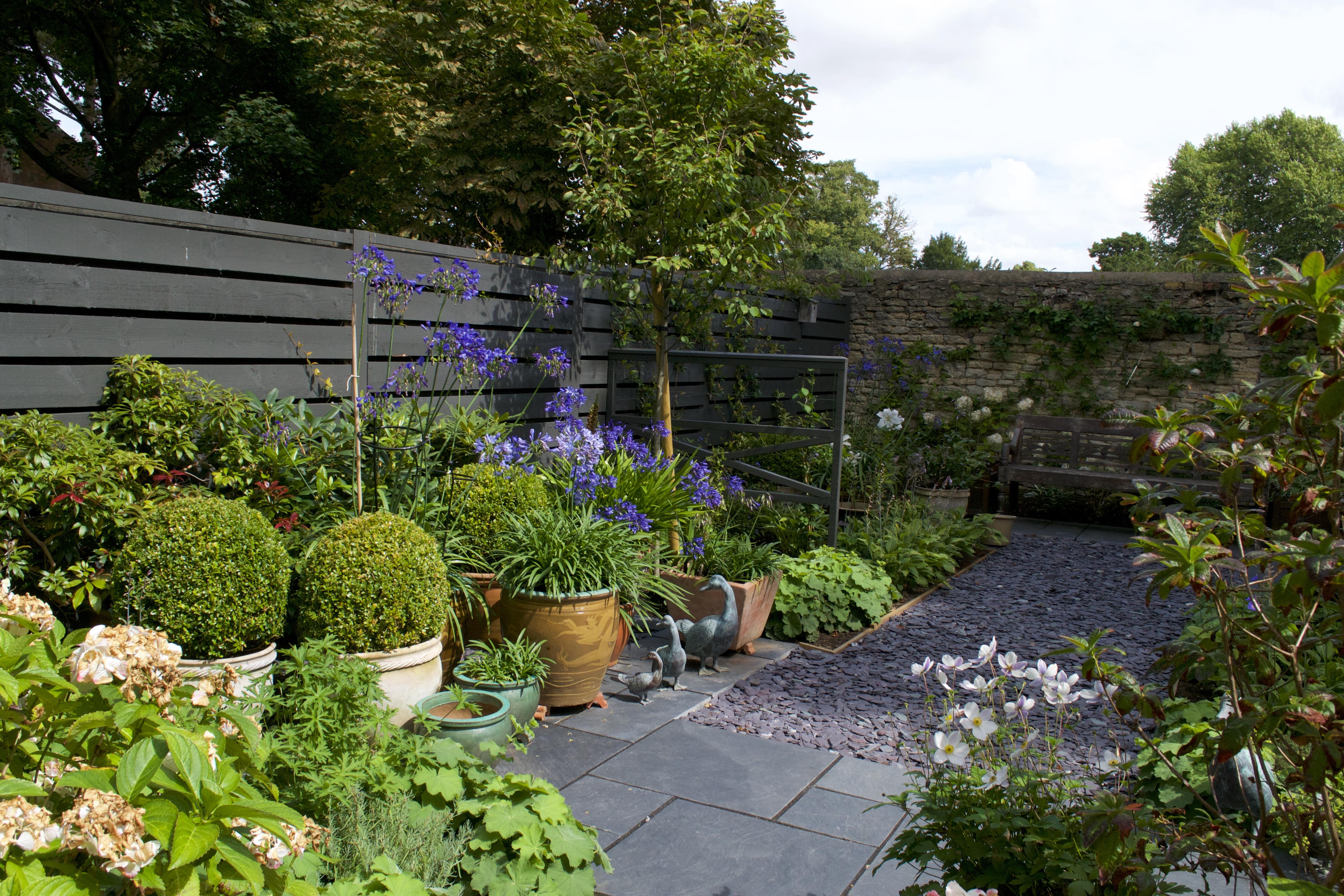 Small Town Garden Design - Oxford - Oxford Garden Design