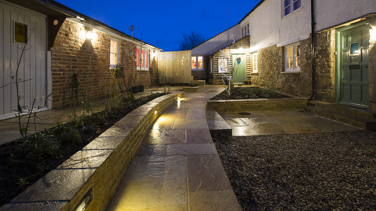 Garden lighting Oxfordshire