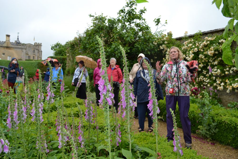 Tour of Rousham gardens
