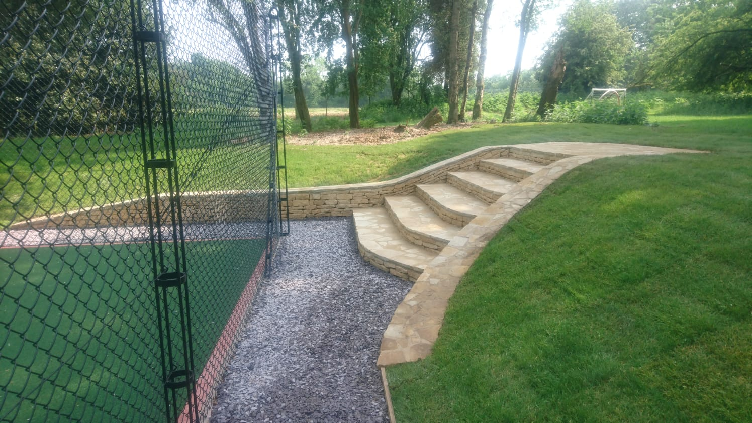Garden landscaping Oxford