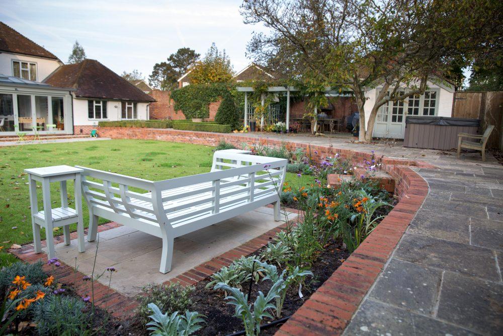 Total transformation of a garden